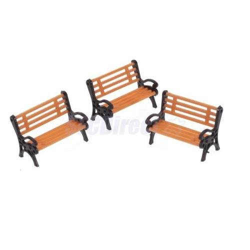 Shalleen 5 MODEL TRAIN STATION Park STREET Benches Platform settee LAYOUT O Scale MODERN (Cheap Settee For Sale)