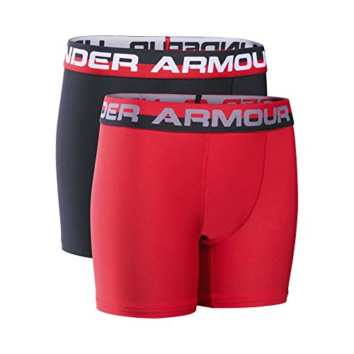 Under Armour UA Original Series Boxerjock – 2-Pack YMD Red