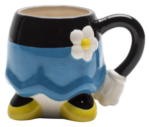 Zak! Designs  Sculpted Ceramic Coffee Mug featuring Disney's Minnie Mouse