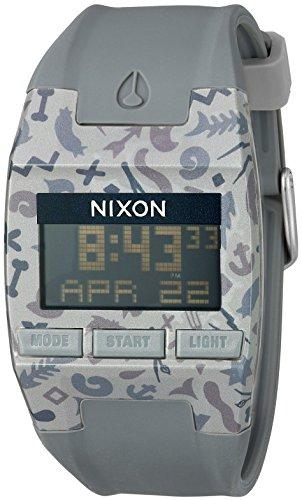 Nixon Men's A4081716 Comp Digital Display Quartz Rose Gold Watch