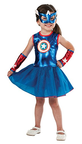 Rubie's Marvel Classic Child's American Dream Costume, Toddler Blue -