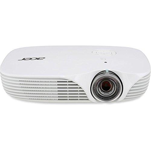 Acer DLP 3D Projector 1280 x 800 WXGA 800 lumens 100,000:1 Contrast Ratio|K138ST(Renewed)