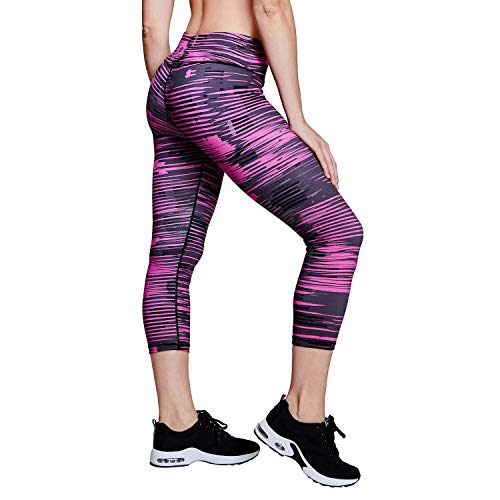 86e85a5c5f85b0 Matymats High Waist Yoga Pants Women's Tummy Control Printed Yoga Leggings  with Pockets