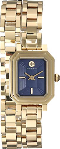 Tory Burch Women's Robinson Mini Bracelet Watch, 22mm, Gold, One Size (Gold Burch Tory Watch)