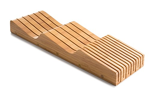 Bellemain 100% Pure Bamboo in Drawer Knife Block, Knife Organizer by Bellemain (Image #3)