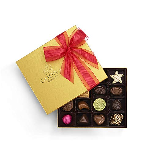 Godiva Chocolatier Godiva Chocolatier Limited Edition 2019 Valentine's Day Ballotin, 19pc Gift Box, Valentines Day Chocolate Box, Gifts for Her, 7.1 Ounce