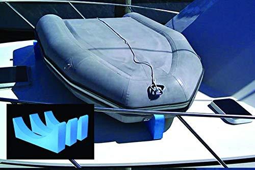 Dinghy Rack Inflatable Boat Davit System (4 Pack of Foam Brackets)