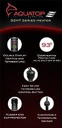 Aquatop D2HT-450 Aquarium Heater Digital Dual Display, 450-Watt