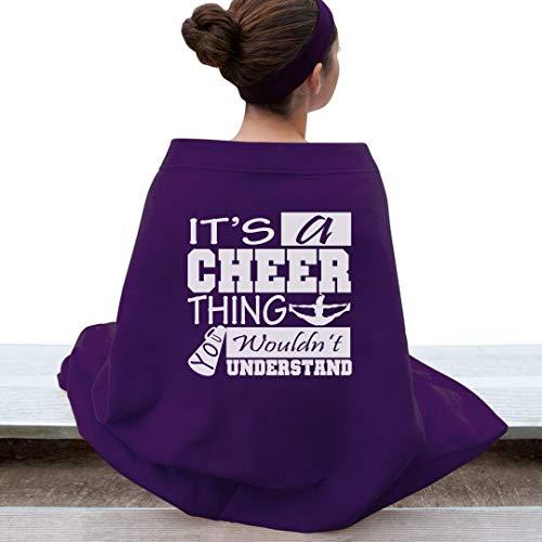 It's A Cheer Thing Girl: Gildan DryBlend Stadium Blanket ()