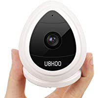 Wireless Security Camera, WiFi Mini IP Surveillance Camera System with Motion Email Alert/Remote Monitoring HD Home Mini Baby Video Monitor, Nanny Cam (White)
