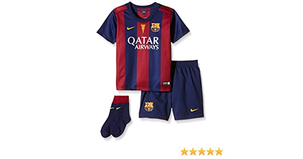 43461b7bac5 Amazon.com   NIKE 2014-2015 Barcelona Home Baby Kit   Baby