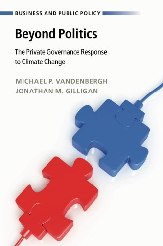Pdf Politics Beyond Politics: The Private Governance Response to Climate Change (Business and Public Policy)