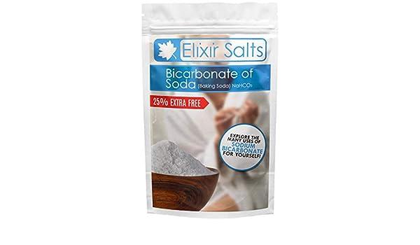 Pura esencia - bicarbonato de Soda/bicarbonato | 100% BP/grado alimenticio | para el baño, hornear, limpieza, bombas de baño: Amazon.es: Belleza