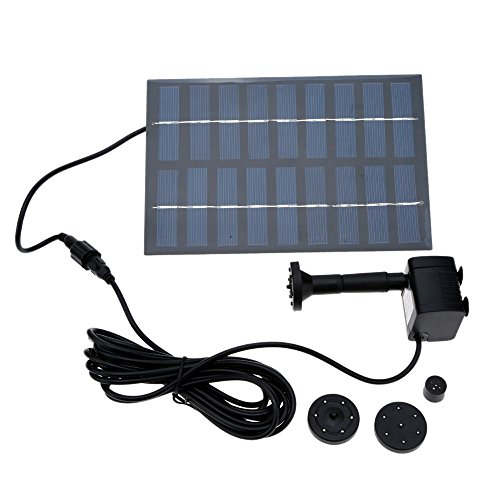 Docooler Solar Brushless Fountain Rockery