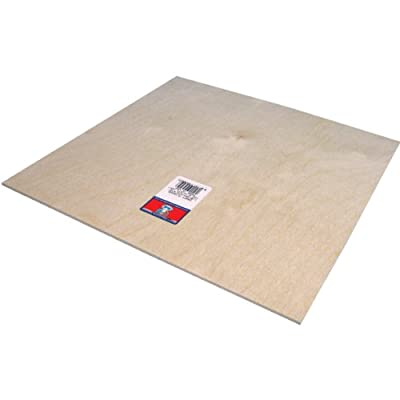 "Plywood Sheet-12""X12""X1/8"""