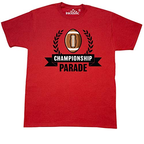 inktastic - Championship Parade with Banner T-Shirt X-Large Red 34515