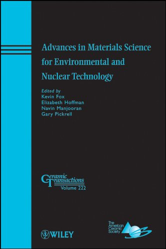 Advances in Materials Science for Environmental and Nuclear Technology (Ceramic Transactions Series)