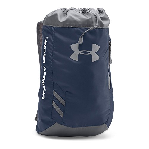 Under Armour Trance Sackpack, Midnight Navy/Graphite, One (Gym Bag Backpack)