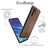 Woodcessories - Case Compatible with Huawei P30 Pro Made of Real