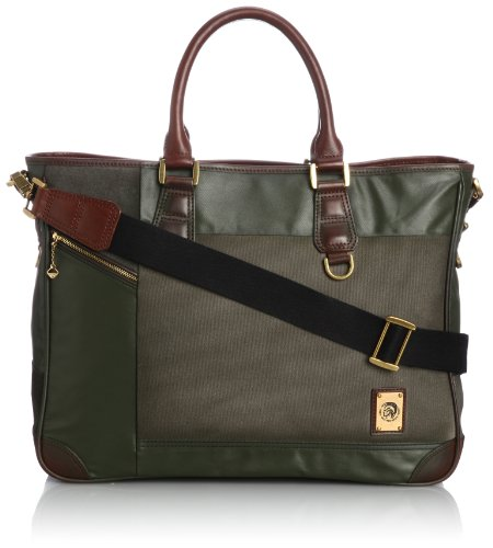 Diesel Blend Into Ground Re-Load Briefcase Olive Night One Size