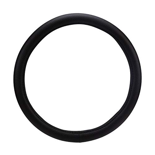 Pilot SW-219 Faux Leather Universal Fit Steering Wheel Cover - Black