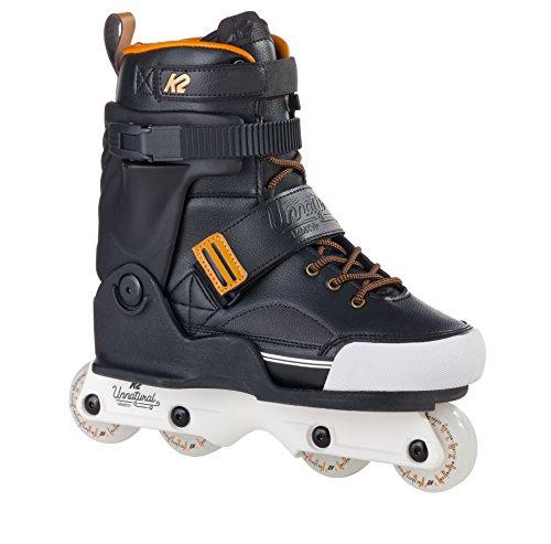 K2 Skate Unnatural Inline Skates, Black/Gold, 11.5