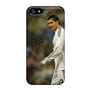 Fashion Tpu Case For Iphone 5/5s- Cristiano Ronaldo Real Madrid Defender Case Cover