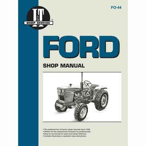ford 1910 tractor parts - 4