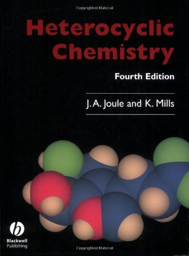 Heterocyclic Chemistry by John A. Joule (2000-06-15)