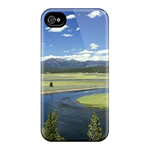 New Premium Mialisabblake Yellowstone River Skin Case Cover Excellent Fitted For Iphone 4/4s