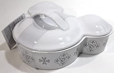 Disney Parks Gourmet Mickey Mouse Icon Casserole Baking Dish