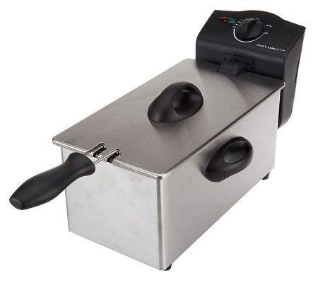 Amazon.com: Deni Deep Fryer 2.5 qt. Stainless Steel Deep Fryer: Kitchen & Dining