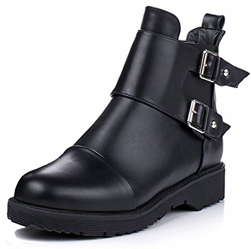 Retro Motorcycle Boots - 9