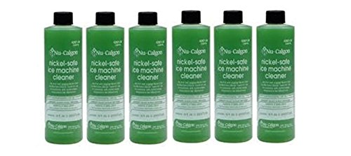 Nickel Safe Ice Machine Cleaner Nu Calgon 4287-34 16 oz Manitowoc Safe- 6 Pack