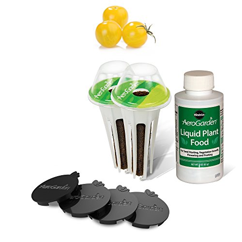(AeroGarden Golden Harvest Cherry Tomato Kit for Harvest & Classic 6)