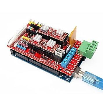 Impresora 3d Mega 2560 R3 + RAMPAS 1.4 Ampliar Cartel + 4988 Paso ...