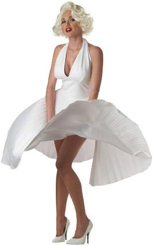 Disfraz Marylin mujer Deluxe - L: Amazon.es: Juguetes y juegos