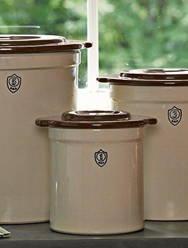 1-Gallon-Stoneware-Pickling-Crock-Complete-Kit