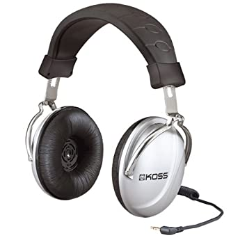 10603c53729 Koss TD85 Over-Ear Stereo Headphones for iPod, iPhone, MP3 and Smartphone -  Silver: Amazon.co.uk: Hi-Fi & Speakers