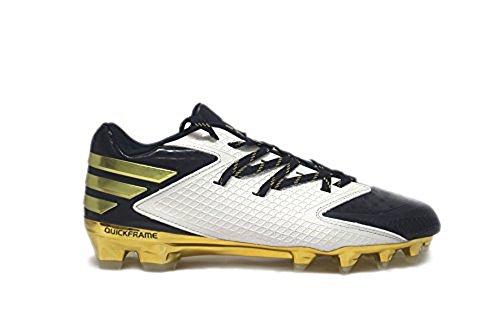 Tacchetti Da Calcio Adidas Da Uomo Sm Freak X Carbonio Low Cool / Oro Metallizzato / Bianco