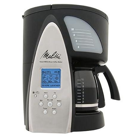 Amazon.com: Melitta me1msb Cafetera programable de Smart ...