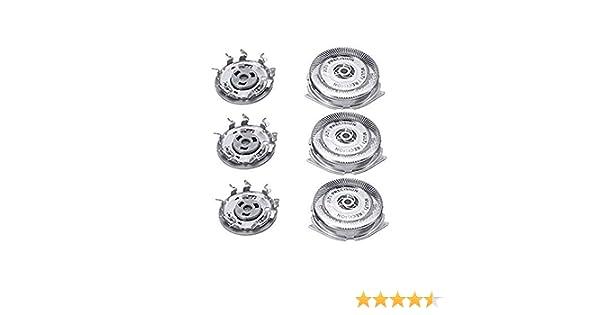 QYHSS Universal Cabezales De Afeitado, para Philips Series 5000 Shaver SH50/52, S5570, S5571, S5572, S5580, S5590, S5600, Repuesto del Cabezal Tres: Amazon.es: Hogar