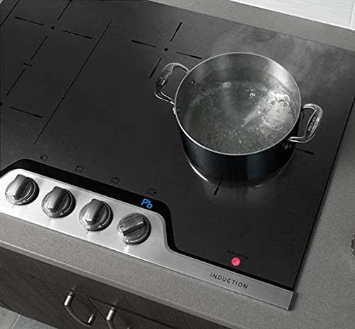 and Knob Controls: Stainless Steel SpacePro Bridge Element PowerPlus Induction Technology Frigidaire Professional FPIC3077RF 30 ADA Compliant Induction Cooktop with 4 Elements