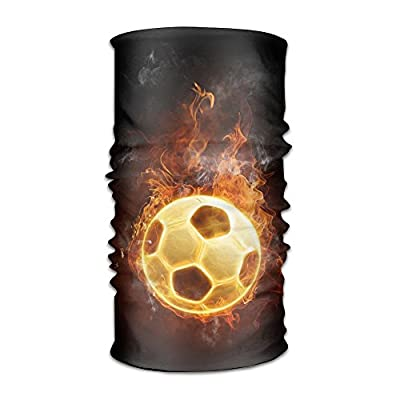 Magic Headwear Blazing Soccer With Fire Outdoor Scarf Headbands Bandana Mask Neck Gaiter Head Wrap Mask Sweatband