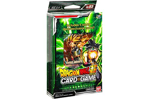 Dragon Ball Z Super The Dark Invasion Starter Deck Series 3 Cross Worlds ()