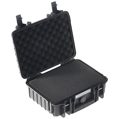 B&W Outdoor Cases Typ 1000 SI (Schaumstoffeinsatz) schwarz