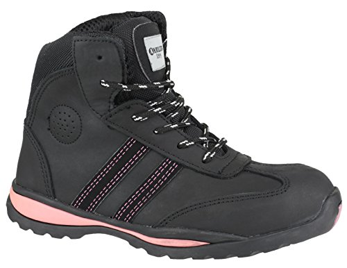 Boot S1P Footsure 08 Black Ladies qPSCwg