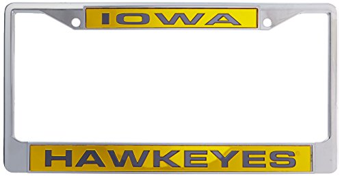 iowa hawkeye license plate frame - 6