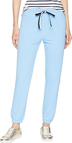Juicy Couture Women's Juicy Jumbo Logo Terry Pants Beach Blue Medium 27 ()