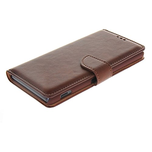 Amazon.com: HUAZHUN High quality Leather Wallet Card Flip ...